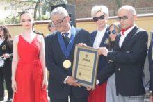 Популяризатор Невицького замку Олександр Дзембас отримав орден Марії-Терезії