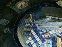 В «AUDI A6» закарпатські митники знайшли приховані цигарки