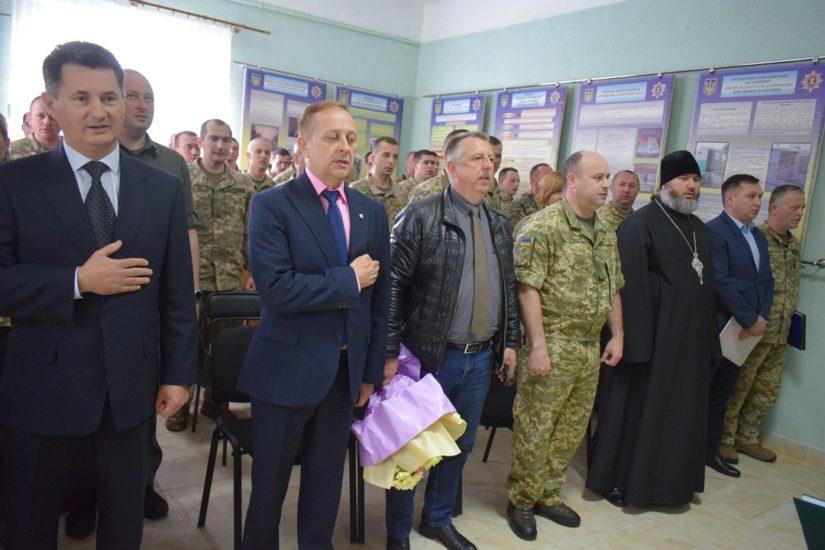 Сьогодні відзначили 15-річчя Ужгородського зонального відділу правопорядку (Фото)