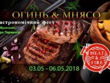 """У Мукачеві відкрився фест """"Огинь і мнясо"""" (Програма)"""