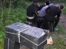 На Тячівщині затримали тютюнових контрабандистів (Фото)