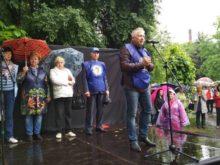 В Ужгороді відбулася попереджувальна акція протесту профспілок