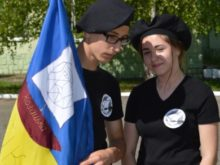У Мукачеві прикордонники навчали юних козаків (Фото)