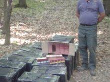 Прикордонники затримали контрабандні сигарети на конях(Фото)