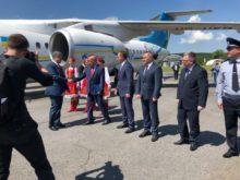 На Закарпаття прибув Президент України (Фото)