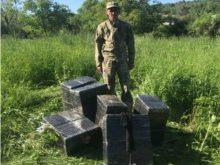 На кордоні з Румунією виявили три тисячі пачок сигарет