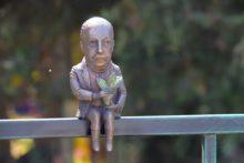 Міні-скульптурка Лаудона з'явилася в парку його імені