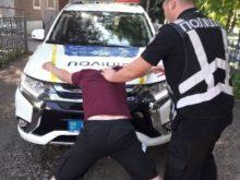 Поліцейські Дубівського відділення затримали водія-порушника з наркотиками