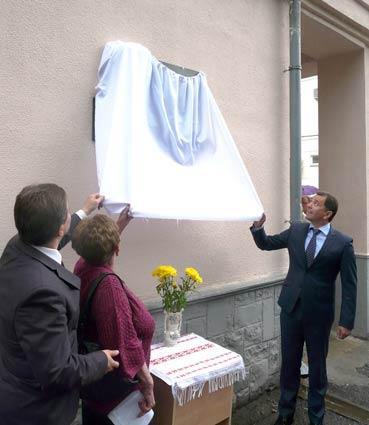 Федора Потушняка та Петра Скунця увіковічили у бронзі