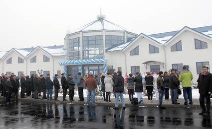 У сервісній зоні КПП «Тиса» почав працювати новий термінал