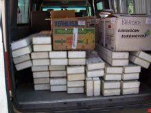 Гуманітарні вантажі для Закарпаття чекають рішення міністерства