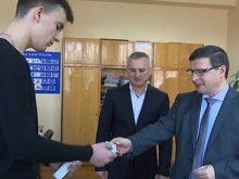 Ужгородцям вручили перші ID-картки