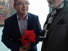 Габор Гомокі вперше виставився в Ужгороді