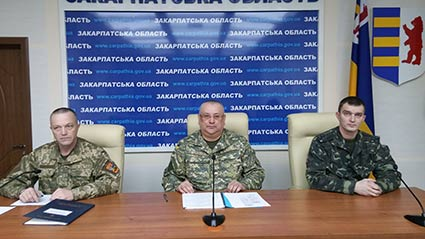 Три тисячі закарпатців підуть до війська під час четвертої хвилі мобілізації у 2015 році