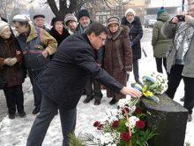 В Ужгороді вшанували пам'ять жертв Голокосту