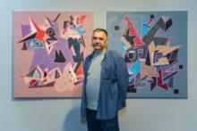 Знаний ужгородський художник Павло Ковач показав «Реалізм і реальність» у столиці