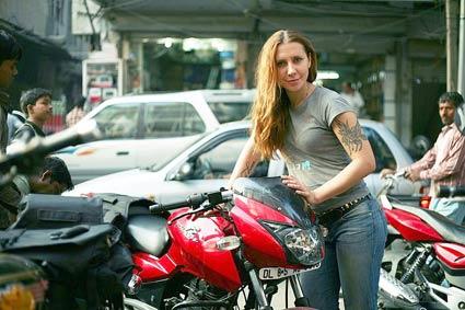 Українка об'їде світ на мотоциклі