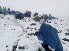На Рахівщині через сніг рятувальники евакуювали дитячий табір