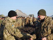 У підрозділах 128-ї окремої гірсько-піхотної бригади вшановували пам'ять загиблих в АТО