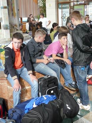 268 закарпатських школярів поїхали до Криму  на відпочинок