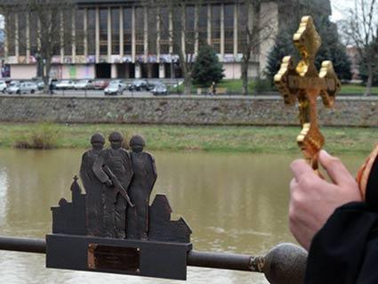 В Ужгороді відкрили пам'ятник українським воїнам