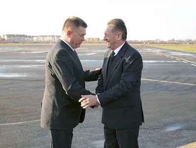 На Закарпаття навідався міністр оборони України