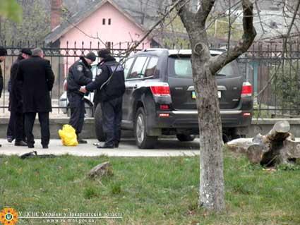 Через повідомлення про вибухівку в Ужгороді довелося евакуювати людей