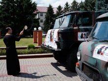 Ще дві автівки поїхали на передову з Тячівщини