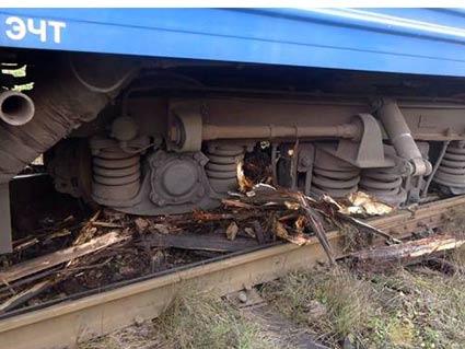 У Рахівському районі з рейок зійшли вагони пасажирського потяга