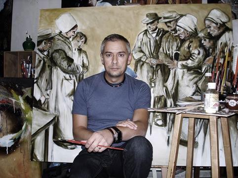 Іштван Гичко вийшов із закарпатської школи живопису,