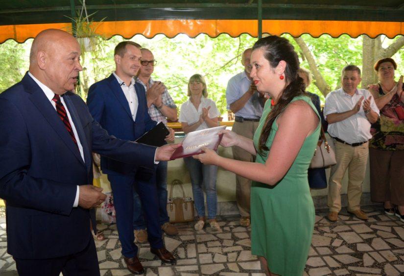 Керівники області привітали медійників краю з професійним святом