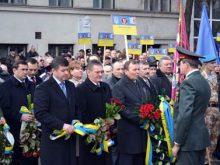 Мітингом-реквіємом вшанували в Ужгороді учасників бойових дій на території інших держав