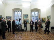 Михайло Заяць повернувся додому із виставкою художніх робіт