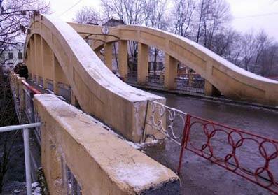 Пішохідний міст знову стане мостом закоханих