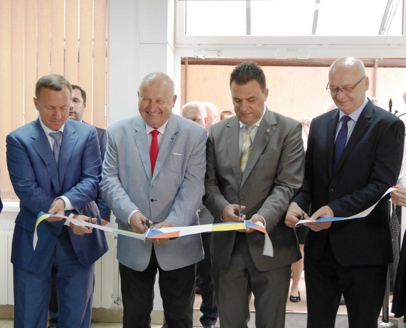 В обласному центрі Закарпаття урочисто відкрили Чеський дім регіону