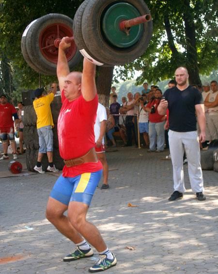 Іван Григоровський – найсильніша людина