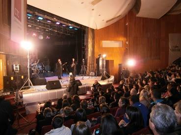 «Пап-джаз-фест-2012» в Ужгороді зібрав повний зал поціновувачів музики