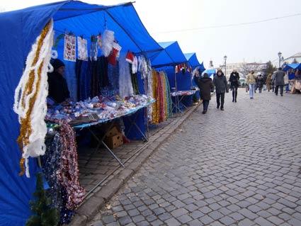 В Ужгороді відкрився ярмарок