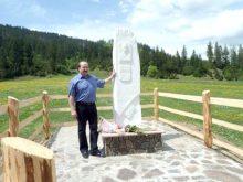 У Репинному на місці смерті останнього опришка Верховини встановлено пам'ятний знак