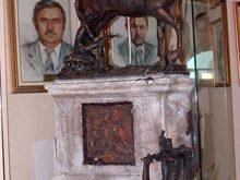 У міській ратуші Мукачева святий Мартин… упав  із коня