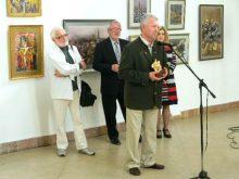 «Архітектурні імпресії» Бориса Кузьми представлені у Львівському палаці мистецтв