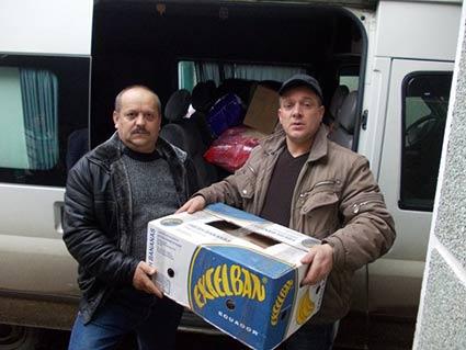 Родина загиблого воїна організувала акцію «допоможи солдату АТО». 9 тонн допомоги уже поїхало на схід
