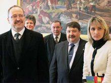 Учора за участі держсекретаря МЗС Угорщини в Ужгороді та Берегові відбулося кілька цікавих подій