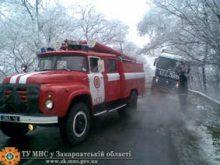Погані погодні умови ускладнили життя водіям і додали роботи рятувальникам