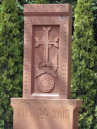 Хрест-камінь нагадуватиме  ужгородцям про геноцид вірмен