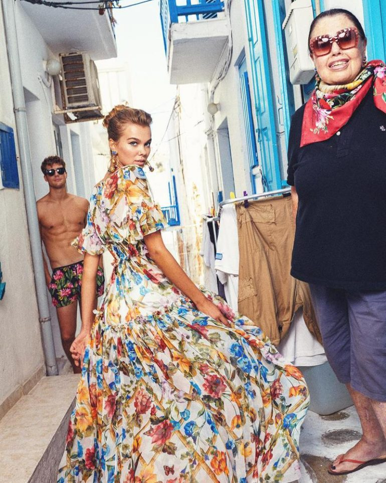 Наша Дар'я Миненко з Виноградова стала обличчям «DOLCE&GABBANA»