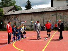 До Дня захисту дітей новий спортмайданчик урочисто відкрили в селищі Ясіня
