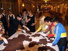 Шоколадну карту України таки зібрали у Трускавці