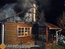 На «Золотій горі» поблизу Ужгорода згорів найдорожчий котедж