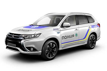 Українські поліцейські їздитимуть на гібридних авто?